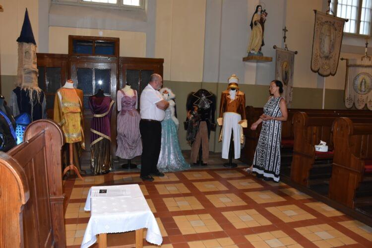 otvorenie výstavy Kostýmov